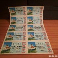 Lotería Nacional: LOTERIA 1968 SORTEO 17. Lote 280130263