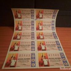 Lotería Nacional: LOTERIA 1968 SORTEO 18. Lote 280130358