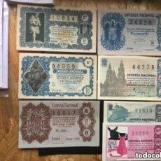 Lotería Nacional: ENVÍO GRATIS LOTE 19 DECIMOS LOTERIA FORMATO GRANDE. Lote 288094348