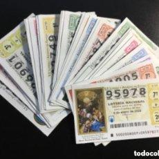 Lotería Nacional: ENVÍO GRATIS LOTERIA NACIONAL 2020 SORTEO SÁBADOS COMPLETO - TODOS LOS SORTEOS. Lote 288397448