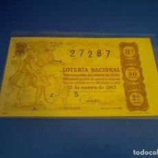 Lotería Nacional: LOTERIA 1963 SORTEO 2. Lote 289198853