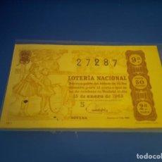 Lotería Nacional: LOTERIA 1963 SORTEO 2. Lote 289198868