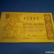 Lotería Nacional: LOTERIA 1963 SORTEO 2. Lote 289198973