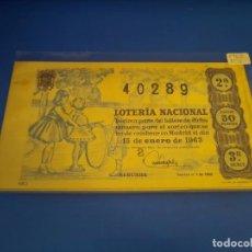 Lotería Nacional: LOTERIA 1963 SORTEO 2. Lote 289199243