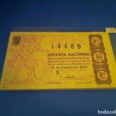Lotería Nacional: LOTERIA 1963 SORTEO 2. Lote 289199528