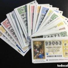 Lotería Nacional: ENVÍO GRATIS LOTERIA NACIONAL 2020 SORTEO SÁBADOS COMPLETO - TODOS LOS SORTEOS. Lote 289869943