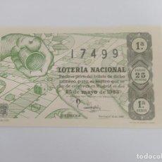 Lotería Nacional: DECIMO DE LOTERIA NACIONAL DEL AÑO 1963, SORTEO 15. Lote 295288693