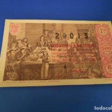Lotería Nacional: LOTERIA 1963 SORTEO 36. Lote 297363943