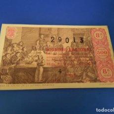 Lotería Nacional: LOTERIA 1963 SORTEO 36. Lote 297364033