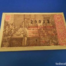 Lotería Nacional: LOTERIA 1963 SORTEO 36. Lote 297364168