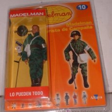 Madelman: MADELMAN ALTAYA Nº 10 SOCORRISTA DE CAMPAÑA + FASCICULO EN BLISTER. CC. Lote 67215929