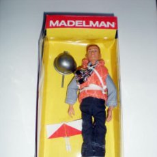 Madelman: MADELMAN ALTAYA MARINERO PORTAAVIONES SERIE MILITAR CAJA. Lote 140778442