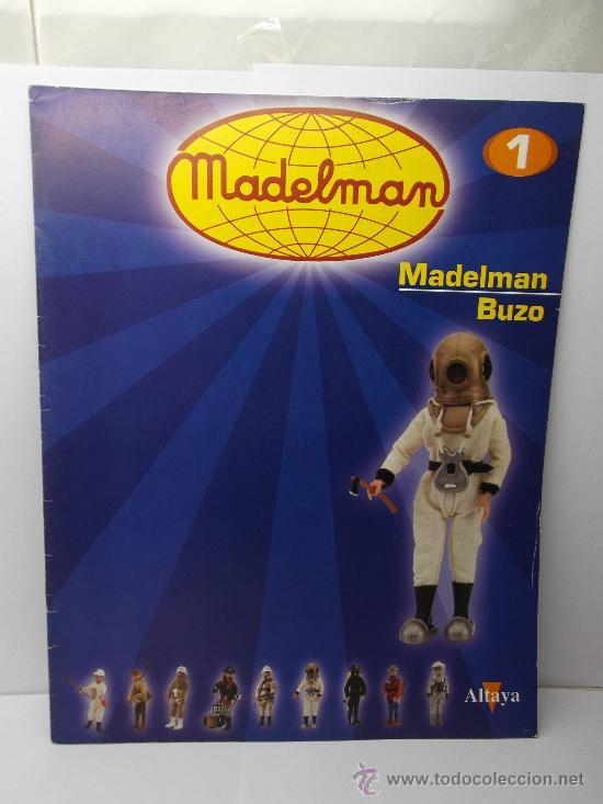 FASCICULO Nº 1 MADELMAN BUZO ALTAYA (Juguetes - Figuras de Acción - Madelman)