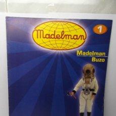 Madelman: FASCICULO Nº 1 MADELMAN BUZO ALTAYA . Lote 32041876