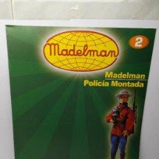 Madelman: FASCICULO Nº 2 MADELMAN POLICIA MONTADA ALTAYA. Lote 32041900