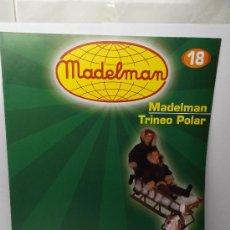 Madelman: FASCICULO MADELMAN Nº 18 TRINEO POLAR COLECCION ALTAYA. Lote 32066342