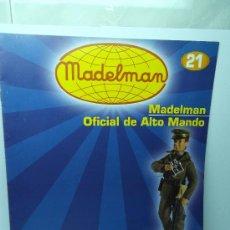 Madelman: FASCICULO MADELMAN Nº 21 OFICIAL ALTO MANDO COLECCION ALTAYA. Lote 32066405