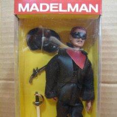 Madelman: MADELMAN ALTAYA - ENMASCARADO - ZORRO - ¡¡ NUEVO EN CAJA SIN ABRIR ¡¡¡. Lote 34073726