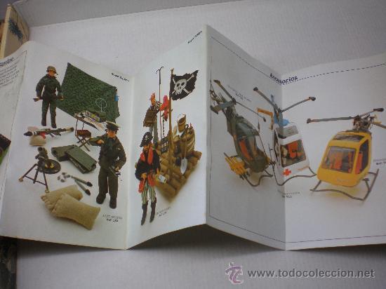 CATALOGO MADELMAN 2ªGENERACION DESPLEGABLE NUEVO AÑO 1977 (Juguetes - Figuras de Acción - Madelman)