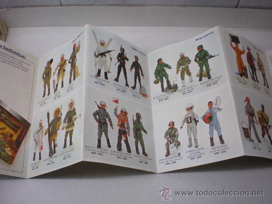 Madelman: CATALOGO MADELMAN 2ªGENERACION DESPLEGABLE NUEVO AÑO 1977 - Foto 3 - 34383027