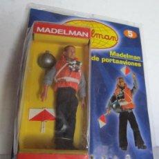 Madelman: MADELMAN ALTAYA, MARINERO PORTAAVIONES Nº 5, CON FASCICULOS, EN BLISTER. CC. Lote 35442395