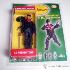 Madelman: MADELMAN ALTAYA MADELMAN EL ENMASCARADO ZORRO CON FASCICULO ACTION FIGURE. Lote 44457341
