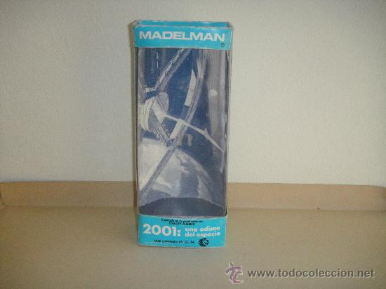 CAJA AZUL MADELMAN 2001 ORIGINAL (Juguetes - Figuras de Acción - Madelman)
