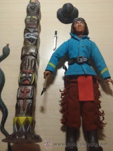 Madelman: ¡LOS ORIGINALES! MADELMAN 3ª SERIE MUY DIFICIL Explorador indio del 7º de Caballería - Foto 3 - 40380086
