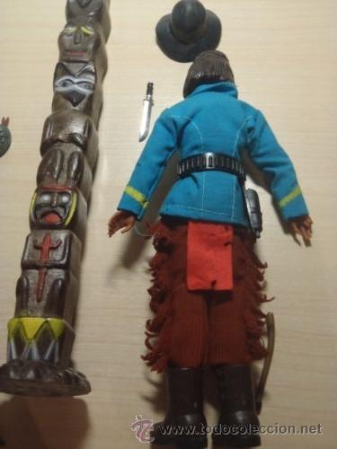 Madelman: ¡LOS ORIGINALES! MADELMAN 3ª SERIE MUY DIFICIL Explorador indio del 7º de Caballería - Foto 4 - 40380086