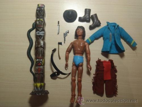 Madelman: ¡LOS ORIGINALES! MADELMAN 3ª SERIE MUY DIFICIL Explorador indio del 7º de Caballería - Foto 5 - 40380086