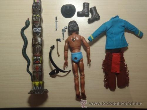 Madelman: ¡LOS ORIGINALES! MADELMAN 3ª SERIE MUY DIFICIL Explorador indio del 7º de Caballería - Foto 6 - 40380086