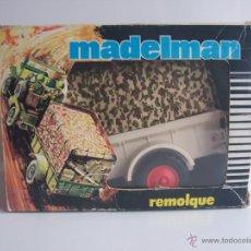 Madelman: REMOLQUE ORIGINAL MADELMAN SAFARI.. Lote 47934396