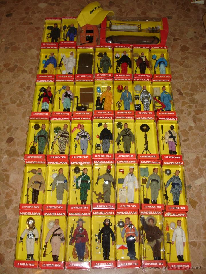 Madelman colecci n altaya completa 2003 con comprar for Coleccion figuras naruto altaya