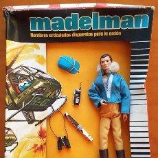 Madelman: MADELMAN AVIACIÓN. EQUIPO INDIVIDUAL, SEGUNDA GENERACION, AÑOS 70-80. SIN FILM PROTECTOR.. Lote 52737636