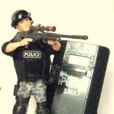 Madelman: LTDI. REF.FC343. MADELMAN CUSTOM. UNIDAD POLICIAL DE INTERVENCION. Lote 53904133
