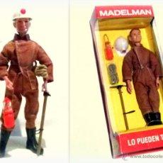 Madelman: LTDI. REF. 3A50. MADELMAN ALTAYA EN CAJA. ESPELEOLOGO CON MONO TOSTADO. Lote 205126037