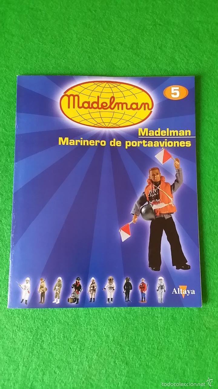 MADELMAN ALTAYA FASCICULO 5 MARINERO PORTAAVIONES (Juguetes - Figuras de Acción - Madelman)