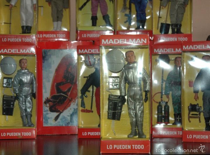MADELMAN MDE NUEVO EN CAJA ASTRONAUTA 2001 ODISEA ESPACIAL (Juguetes - Figuras de Acción - Madelman)