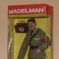 Madelman: MADELMAN MDE HISTÓRICO IIWW SEGUNDA GUERRA MUNDIAL ADOLF HITLER EN CAJA CUSTOM. Lote 57517780