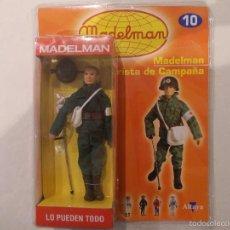 Madelman: MADELMAN-SOCORRISTA DE CAMPAÑA-CON CAJA Y FASCICULO-SIN ABRIR-NUEVO. Lote 171339230
