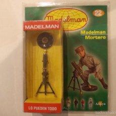 Madelman: MADELMAN-MORTERO-CON CAJA Y FASCICULO-SIN ABRIR-NUEVO . Lote 58266943