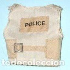 Madelman: LTDI. REF. 4PDJ118. MATERIAL MADELMAN PDJ.CHALECO POLICIA MARRON . Lote 63524904