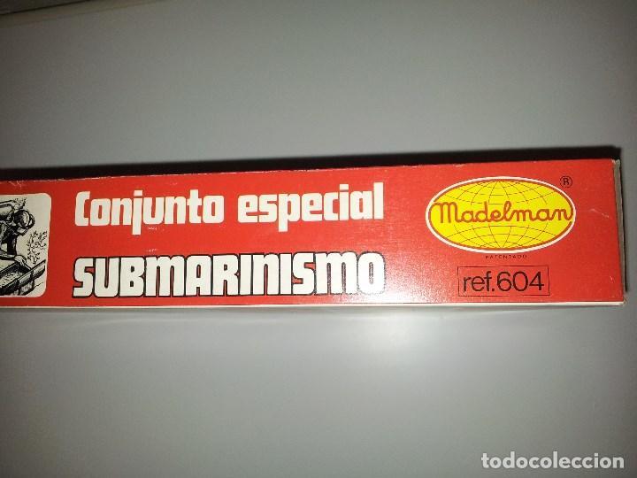 0f8d521e6 Madelman  Madelman conjunto especial submarinismo en caja original - Foto 3  - 64733223