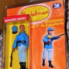 Madelman: MADELMAN SEPTIMO DE CABALLERIA NUEVO EN BLISER CON FASCICULO. UNICO EN TODOCOLECCIÓN. RARO. Lote 66910290