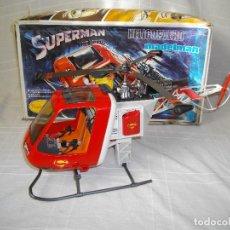 Madelman: HELICOPTERO MADELMAN SUPERMAN EN CAJA NUEVO DE TIENDA. Lote 68628513