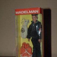 Madelman: MADELMAN MDE WWII SEGUNDA GUERRA MUNDIAL. MARINERO ARMADA NAZI EN CAJA. IDEAL REGALO NAVIDAD. Lote 68963809
