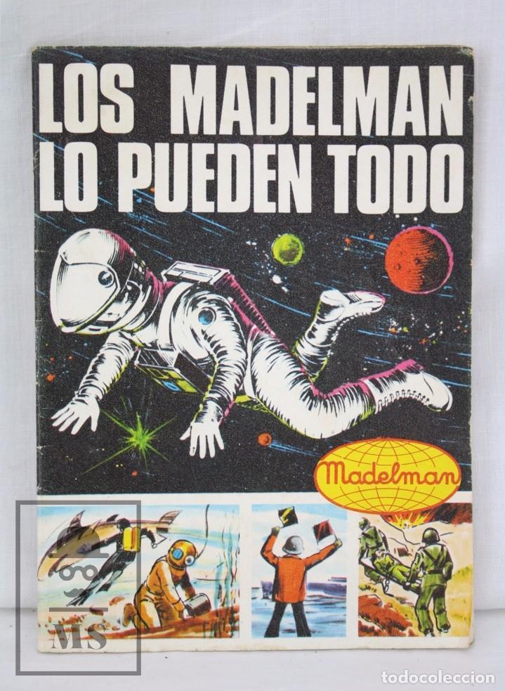CATÁLOGO / FOLLETO DE MADELMAN - LOS MADELMAN LO PUEDEN TODO - MADEL SA, 1975 (Juguetes - Figuras de Acción - Madelman)