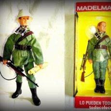 Madelman: LTDI. REF. 3A51A .MADELMAN ALTAYA EN CAJA . CAZADOR SAFARI CON TRAJE VERDE. Lote 77388170
