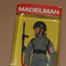 Madelman: MADELMAN MDE IIWW SEGUNDA GUERRA MUNDIAL SOLDADO ALEMAN ANTITANQUE EN CAJA. Lote 84174476