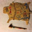 Madelman: ¡¡LOS ORIGINALES!! MADELMAN ORIGINAL MADEL S.A 80 MAPA Y PIPA 2ª SERIE OESTE JEFE INDIO REF. 675. Lote 100217143